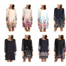 Spring Floral Women's Shift Dresses