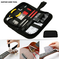 14Pcs/Kit Full Set Guitar Repair Care Tool Kit Maintenance Tools Guitar Tools