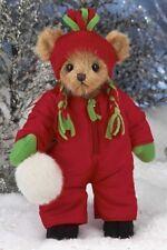 "10"" BEN CHILLIN*Bearington Stuffed Teddy*NEW*NWT*Winter*SNOWBALL*173148"