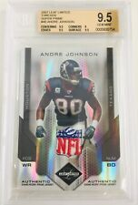 2007 Leaf Limited Andre Johnson 1/1 SUPER RARE NFL Shield LOGO Patch Prime Texan