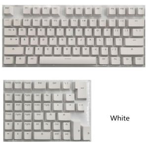 PBT Keycaps For Mini Mechanical Keyboard For 61/64/68/71/82/84 Layout Keyboard