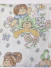 "Cabbage Patch Kids CPK Twin Flat Bed Sheet Vintage For 39"" X 76"" Mattress USA"