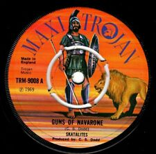 "SKATALITES-guns of navarone    trojan 7""    (hear)   boss ska reggae  studio 1"