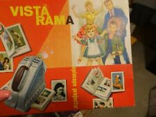 VINTAGE OLD 1960S TOY VISTA RAMA EPISCOPE PROJECTOR IN BOX