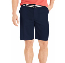 IZOD The Driver Golf Shorts Mens 40W Midnight Blue Wrinkle Free Wicking