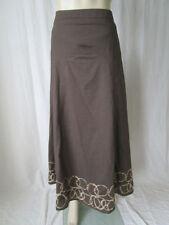 White Stuff Calf Length Cotton Regular Size Skirts for Women