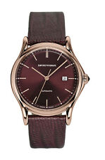 EMPORIO ARMANI Swiss Made AUTO Gold Gents Watch ARS3018 - RRP £795 - NEW