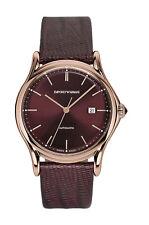 EMPORIO ARMANI Hecho en Suiza Automático Oro Caballeros Reloj ARS3018-PVP 795 € - nuevo