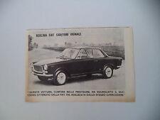 advertising Pubblicità 1964 BERLINA FIAT 1300/1500 VIGNALE