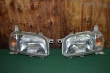 JDM 97-99 Nissan March Micra K11 Halogen Headlights Lamps Lights Set OEM