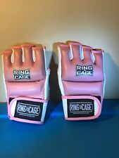 Ring to Cage MMA Pink Bag Gloves