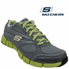 Skechers Stride Women's Gray Green Athletic Sport Walking Shoes Size 8 new