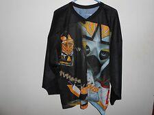 Vintage 90's Pittsburgh Penguins Pens Jersey L Large XL CCM Maska Street