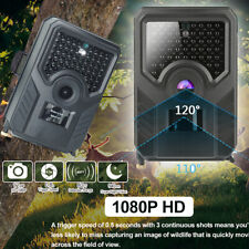 Jagdkamera Wildkamera 12MP 1080P FullHD IP56 Wasserdicht Fotofalle IR Nachtsicht