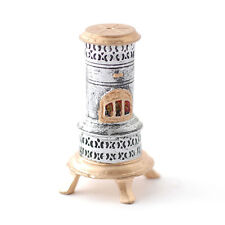 SA-Dolls House DF681 alter Ofen silber/gold 1:12 für Puppenhaus NEU! #