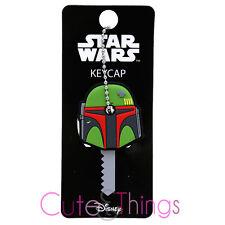 Starwars Boba Fett Key Cap Loungefly PVC Silicone Key Holder Key Chain
