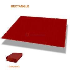 Customize Straight Edge Waterproof Sun Shade Sail UV Blocker Patio Pool Cover 5'