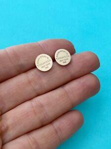 Tiffany Co 18k Rose Gold Fine Earrings For Sale Ebay