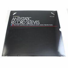 """Nagaoka Discfile 102 Anti Static 12"""" Vinyl Inner Record Sleeves (pack of 50)"""