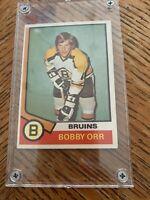 1974 OPC O-Pee-Chee #100 Bobby Orr EXMT Bruins