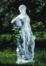 """Putte """"OTGERA"""", 70 cm, Gartenfigur, Steinnachbildung aus Kunststoff,Gartenzwerge"""