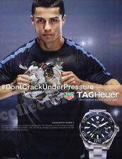 Ronaldo -Soccer World Cup star - TAG HEUER watch advertisement A4 size HQ print