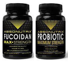 Absonutrix Fucoidan Pure+ Absonutrix Probiotic Max Strength antioxidant immunity