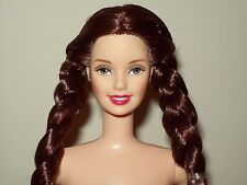 Barbie Wizard Of Oz Dorothy Doll Lights Up Talks Braided Long Brown Hair