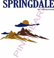 SPRINGDALE RV decal kit travel trailer graphics keystone stickers camper USA