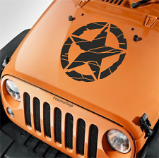 1 55cm US Army Oldschool Hotrod US Aufkleber Auto Sticker Sticker Retro Sterne