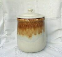 Vintage McCoy Graystone Pottery Kitchen Canister Mid Century