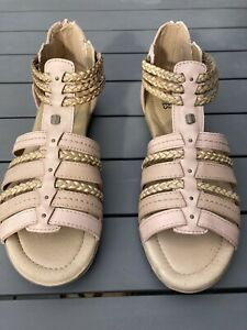 Planet Shoes Ladies Size 9 Charlie Sandals Pink RRP $139