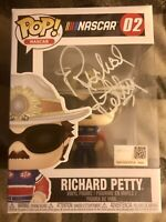 "Funko Pop Richard Petty ""The King"" signed Autograph JSA COA"