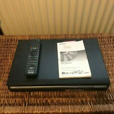 Sony RDR-HXD770 DVD Recorder 120GB Hard Drive HDD & FREEVIEW + Remote & Manual