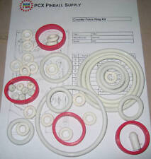 1980 Gottlieb Counterforce Pinball Rubber Ring Kit - aka Counter Force