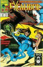 EXCALIBUR # 37 (Mark Badger) (guest: DR. Doom & Iron Man) (USA, 1991)