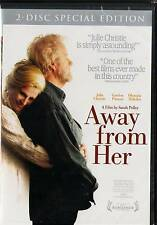 Away From Her (DVD, 2 Discs) Julie Christie, Olympia Dukakis,  SPECIAL EDITION