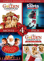 Family Holiday Collection: Movie 4 Pack (DVD, 2013, 2-Disc Set)  ***NEW!!***