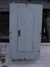 CUTLER HAMMER ELECTRICAL PANEL 225 AMP MAIN  120/240 VOLT  WITH 15 AMP BREAKERS