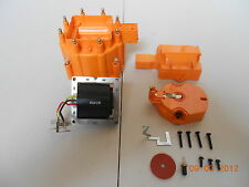 ORANGE HEI Distributor Cap, Coil Cover & Rotor Kit and 65,000 Volt Coil GM-CHEVY