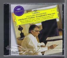 BERNSTEIN CD NEW CHICHESTER PSALMS SYMPONIES 1 & 2 CHRISTA LUDWIG