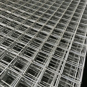 """6FT Galvanised Wire Mesh Panel Welded Steel Sheet Metal 2"""" Holes / 1"""" x 3"""" Mesh"""