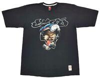 Vintage Ecko Unltd Graffiti Mask Tee Black Size Large Mens T Shirt
