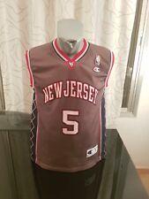 CAMISETA SHIRT VINTAGE CHAMPION NBA NEW JERSEY N°5 JASON KIDD TALLA S