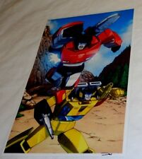 G1 Transformers Autobot Sunstreaker Sideswipe at the Ark Poster 11x17 FREESHIP