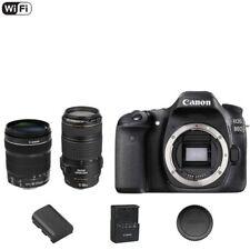 Canon EOS 80 D / 80D DSLR Camera Body + EF-S 18-135mm STM +  EF 70-300mm Lens
