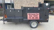 Do You Have a Bad Back BBQ Smoker 36 Grill Trailer Food Mobile Catering Business