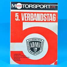 DDR Illustrierter Motorsport IMS 5/1978 Sachsenring Lancia Stratos Balkan ADMV