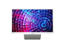 PHILIPS Fernseher 32 Zoll/80cm 32PFS5863/12 LED Smart TV Pixel Plus Full HD Weiß