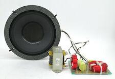 "SINGLE Radian 508/2B 8"" Woofer Coaxial Speaker + Transformer + Passive Crossover"